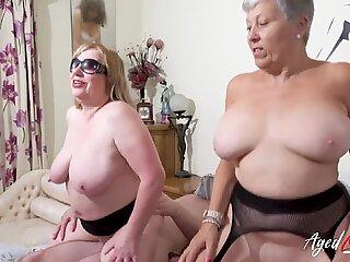 AgedLovE British Mature Group Sex and Toying