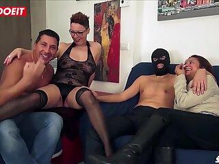 LETSDOEIT - Italian Amateurs Swap Wives in Hot Foursome Sex