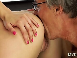 Sex with her boyboss s father after swimming pool