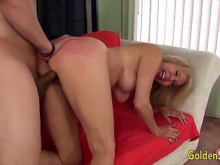Golden Slut - Mature Blondes Getting Drilled Compilation 6