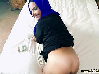 Arab lawyer girl fucking inside her office with Anything to Help The Poor
