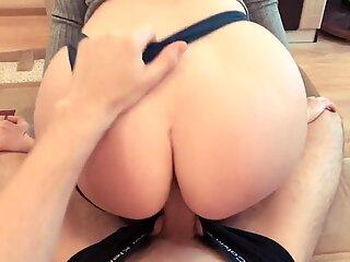 Sister Caught Brother Masturbating on her Tik Tok Sex Videos