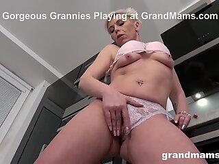 Granny'_s Such a Dildo Slut