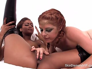 Skin Diamond the lesbian Jedi