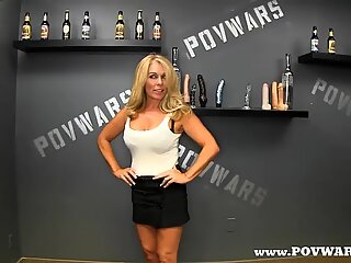 POV Wars Mature babe fucked by 5 guys in a row guy-5
