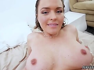 Teen strokes hard cock and chubby pool Krissy Lynn in The Sinful Stepmother