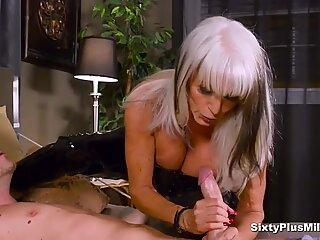 Anal Sex With Busty 60yrs GILF
