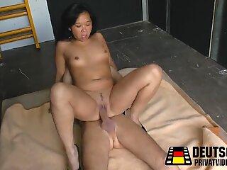 Asia Braut aufgelesen