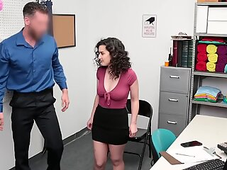 Security guard fucks a hairy pussy at the detention room from a hot thief that gets caught. Join us.