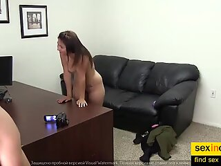 Curvy Amateur Teen Has Rough Sex In Her First Casting Video Ever
