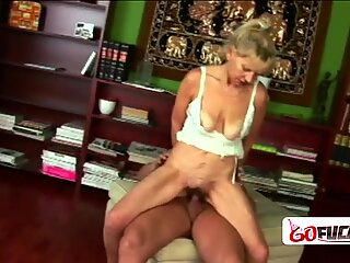 Horny Granny Inci and lover Libor engage in steamy casual sex