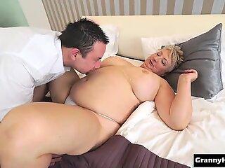 hot granny fucked hard
